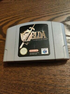 Legend Of Zelda Ocarina Of Time N64 Game - PAL Version - Cartridge Only