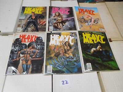 Heavy Metal Magazine ENTIRE Year 18 January March May July Sept Nov 1994 Lot 22