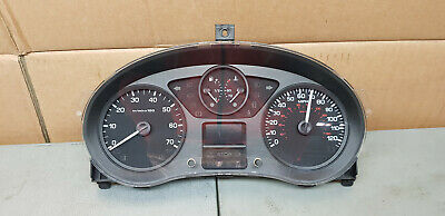 Citroen Berlingo Instrument Cluster Speedo Meter Clocks