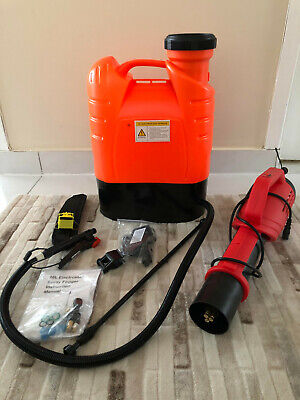 Electrostatic Disinfectant Sprayer 16L (4.2 Gallons, Cordless) **Ready To Ship**