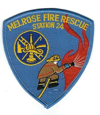 Melrose (Alachua County) FL Florida Fire Rescue Dept. Station 24 patch - NEW!