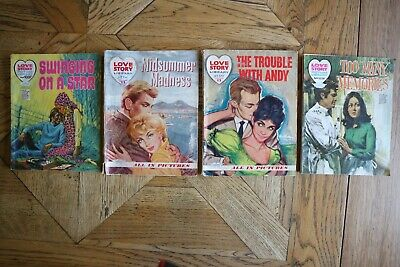 LOVE STORY LIBRARY Picture books 1960's 1970's x 4 Titles