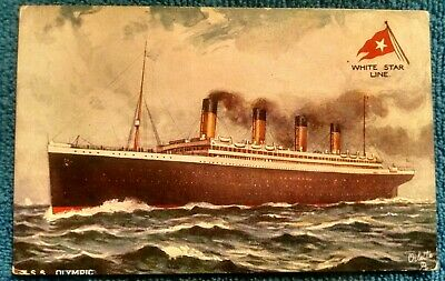 """RMS """"OLYMPIC"""" + two by TUCKS"""