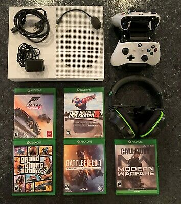 Xbox One S - 2TB Launch Edition Bundle - 5 Games, 2 Controllers, & More
