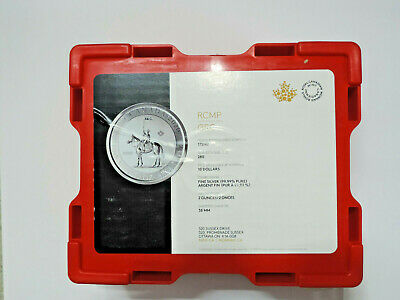 Royal Canadian Mint RCM Empty Monster Red Box RCMP 2 oz fits standard SML tubes