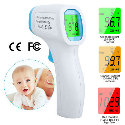 IR Infrared Digital Thermometer Non-Contact Forehead Termometer Baby Adult Body