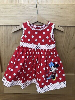 Disney Baby Girls Minnie Mouse Dress 3-6 Months