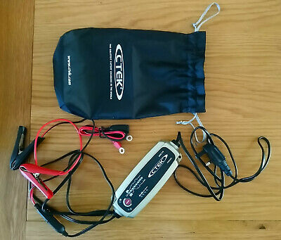 CTEK MXS 5.0 12V Smart Automatic Battery Charger For AGM, GEL, EFB, MF, CaCa