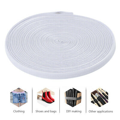 1 Roll 10m Hight Elastic Bands Spool Knitting Sewing Band Elastic Cord Rope 6mm
