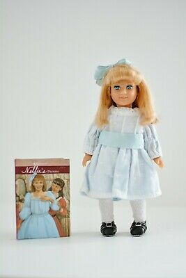 American Girl Doll Mini Nellie with original meet outfit and book RETIRED RARE