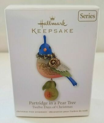 2011 Partridge In A Pear Tree Hallmark Ornament Twelve Days Of Christmas #1