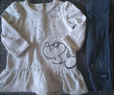 Baby Girls BNWT Disney Minnie Mouse 2 Piece Outfit 3-6 Months