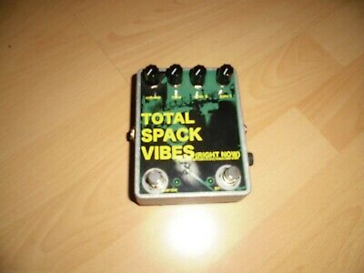 DWARFCRAFT TOTAL SPACK VIBES OVERDRIVE DISTORTION BOOST,Neuwertig!