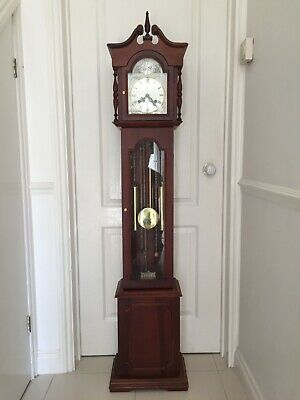 Antique Reproduction Granddaughter Clock 31 Day Spring Wind