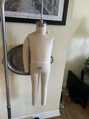 Childs Full Body Jersey Covered Flexible Children's Mannequin