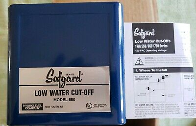 Safguard 550 Hydrolevel Low water cut-off new old inventory (as pictured)
