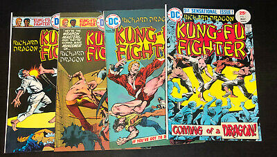 RICHARD DRAGON Kung Fu Fighter (1975 DC) -- #1 2 3 4 5 to 18 -- FULL Series