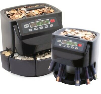 Cassida C200 Coin Counter and Sorter for 900 Coins