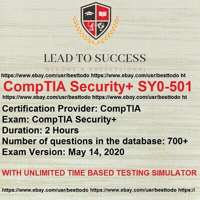 CompTIA Security SY0-501 Real Exam Q&A And Simulator QUIQIE DELIVERY