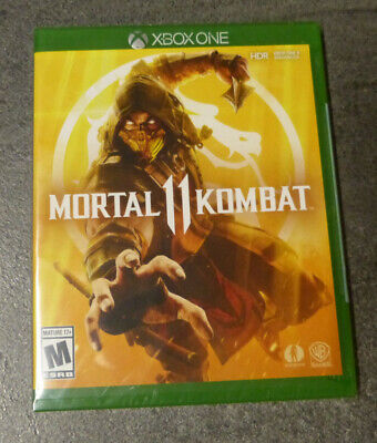 Mortal Kombat 11 Brand New In Wrapping (Xbox One, 2019)