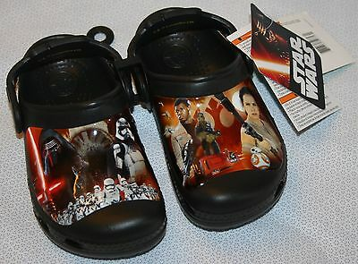 Star Wars The Force Awakens Crocs - NEW - size 10-11