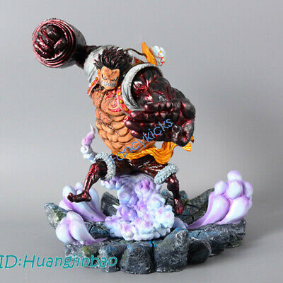 Luffy Gear Fourth GK Figure Statue Painted Model 25cm One Piece Monkey D