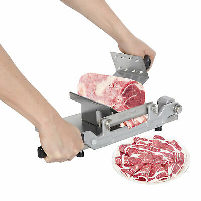 Stainless Steel Meat Cutter Beef Mutton Roll Meat Food Slicer Slicing Machine