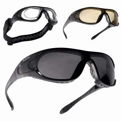 Bolle Raider Glasses Ballistic Safety Military Army Tactical Airsoft 3 Lens Kit