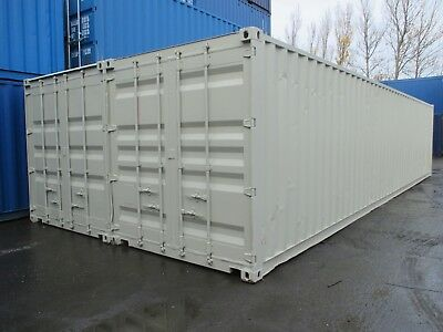 40Ft X 16Ft Shipping Container Workshop