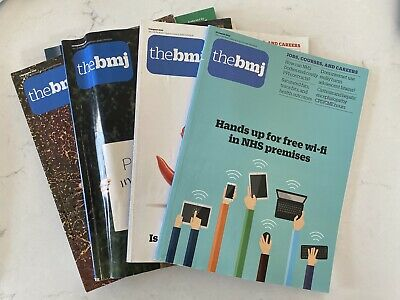 Old Collection Of Bmj, Student Bmj & New Scientist Magazines/Journals