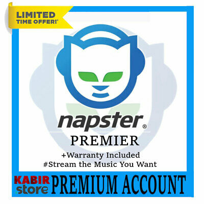 🎧Napster Premier Subscription 😲 Lifetime Warranty ✅ Fast delivery 🎧Worldwide