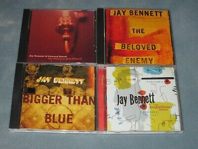 Excellent CD's Lot JAY BENNETT Bigger Beloved Enemy Magnificent Palace At 4 AM