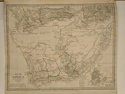 1831-40 SDUK: Africa Maps - 12 Regional and 1 General Map