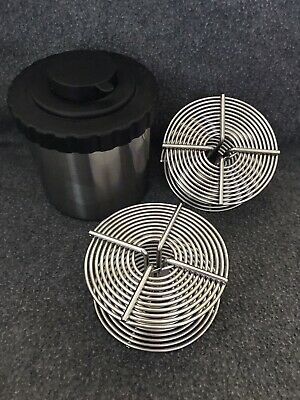 HEWES 35MM SPOOLS (Lot Of 2) & STAINLESS STEEL DEVELOPING TANK (MADE IN BRITAIN)