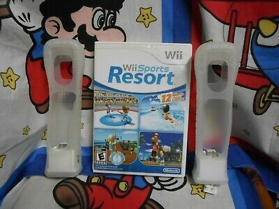 Nintendo Wii  - Sports Resort Game with 2 Motionplus Adapters