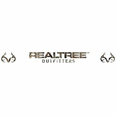 Realtree Camo Windshield Decal, Graphic Logo Camouflage Car Auto Truck