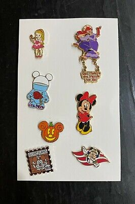 Lot of 7 various Walt Disney Trading Pins - Alice, Red Hatters, Vinylmation...