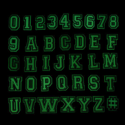 New 37pcs Glowing Letters&Numbers Shoe Charms Florescent Adapts fit Garden Shoes