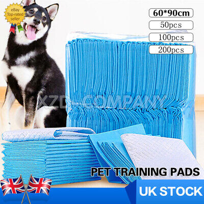 Puppy Pads Dog Pet Toilet House Training Wee Potty Pee Mats Cat Poo XL 60 x 90cm