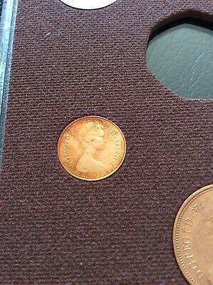 "1974 HALF PENNY 1/2p in "" Proof "" Condition Extremely Collectable Piece"