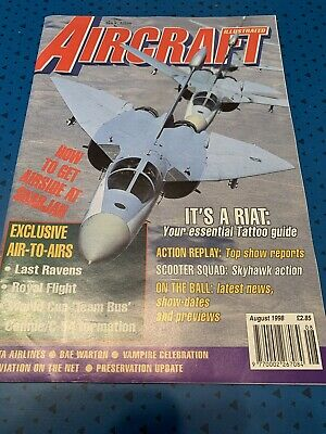 Aircraft Illustrated Magazine - August 1998