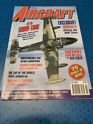 Aircraft Illustrated Magazine - July 1998