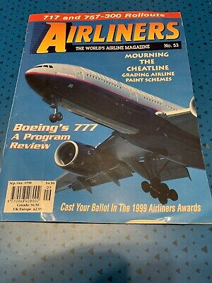 Airliners Magazine No. 53 September/October 1998