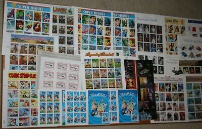 USA Valid Modern MNH Sheets Postage Stamp Collection Face Value $360.