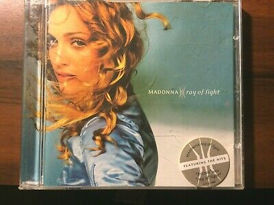 MADONNA RARE SOUTH AFRICAN PRESSING Ray Of Light CD With Hype Sticker