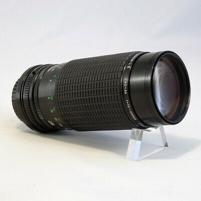 Canon FD Fit Sigma 75-300mm MF BOXED Zoom Lens W/ CASE *EXCELLENT CONDITION*