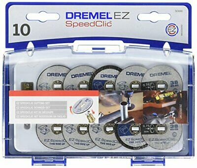 Dremel 690 EZ SpeedClic Cutting Wheels Accessory Kit with 10 Rotary Tool Saw and