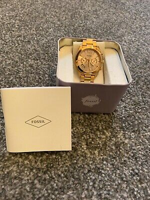 Gold Tone Mens Fossil Watch
