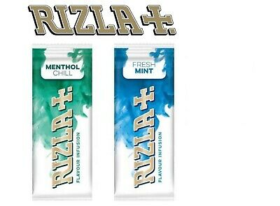 5 x Rizla Flavour Infusion MENTHOL FRESH MINT Cards Smoking NEW ONLY £3.65