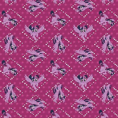 My little Pony cotton print By the yard From Camelot Fabrics